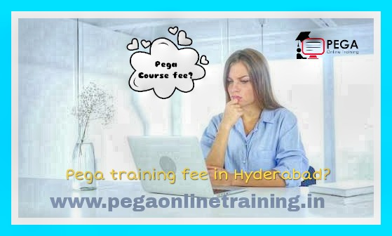 What is the cost of Pega online training and Course Content?